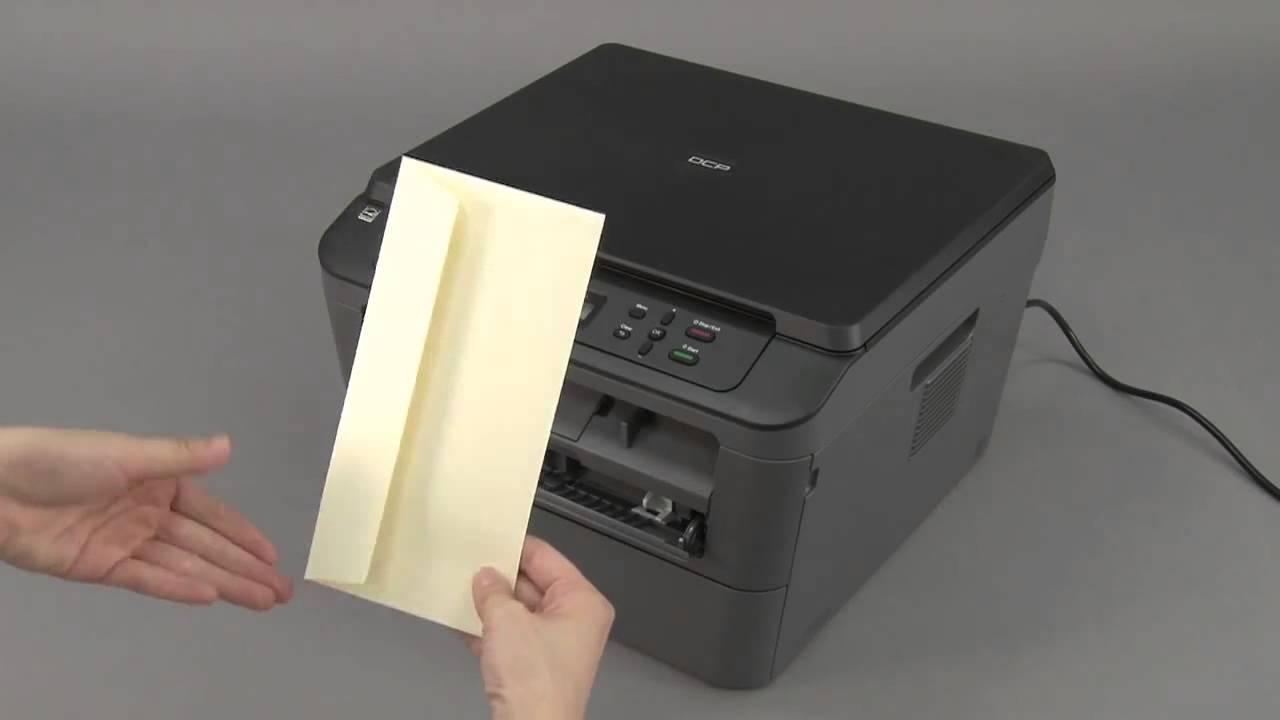 Boríték nyomtatása